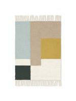 ferm LIVING Kelim Mat - Squares - 50x70