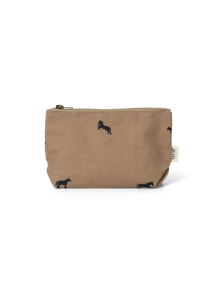 ferm LIVING ferm LIVING Horse Embroidery Bag - Small - Tan