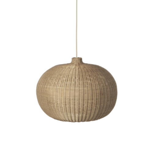 ferm LIVING Braided Belly Lampshade