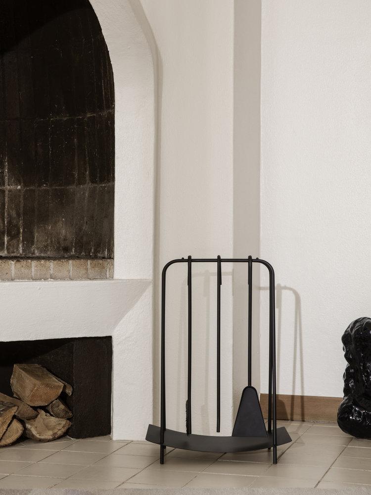 ferm LIVING ferm LIVING Port Fireplace Tools - Black