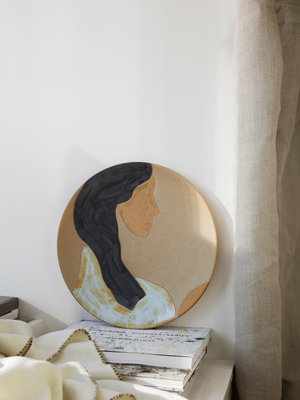 ferm LIVING ferm LIVING Ceramic Platter - Hessa