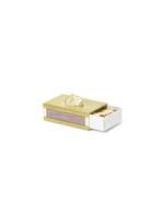 ferm LIVING Stone Matchbox Cover - Brass