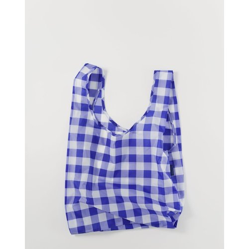Baggu Standard Reusable Bag - Big Check Blue