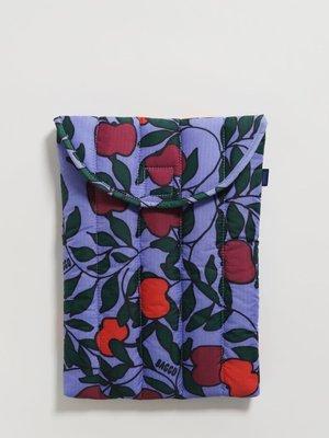 "Baggu Puffy Laptop Sleeve 13"" - Apple Tree"