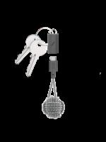 Native Union Key Cable - Lightning - USB-C - Zebra