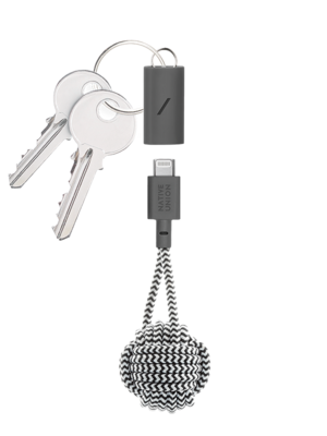 Native Union Key Cable - Lightning - USB-C - Zebra