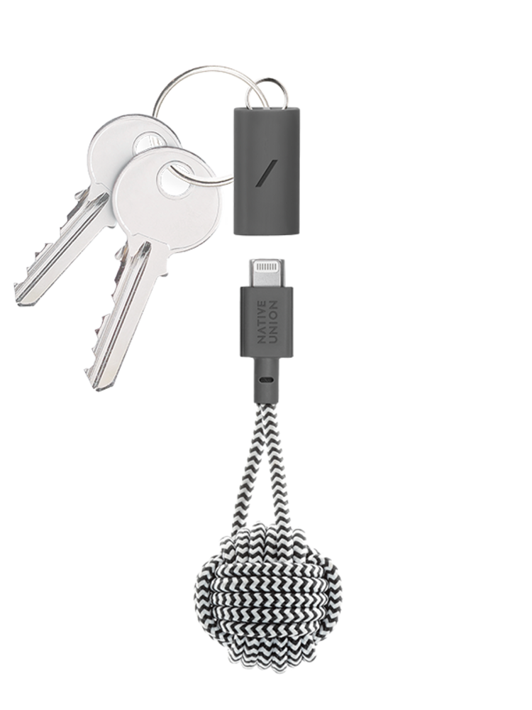 Native Union Native Union Key Cable - Lightning - USB-C - Zebra