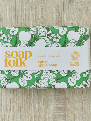 Soap Folk Spiced Apple Organic Soap
