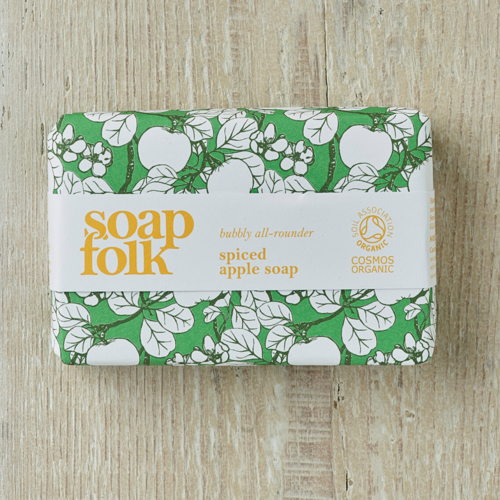 Soap Folk Soap Folk Spiced Apple Organic Soap