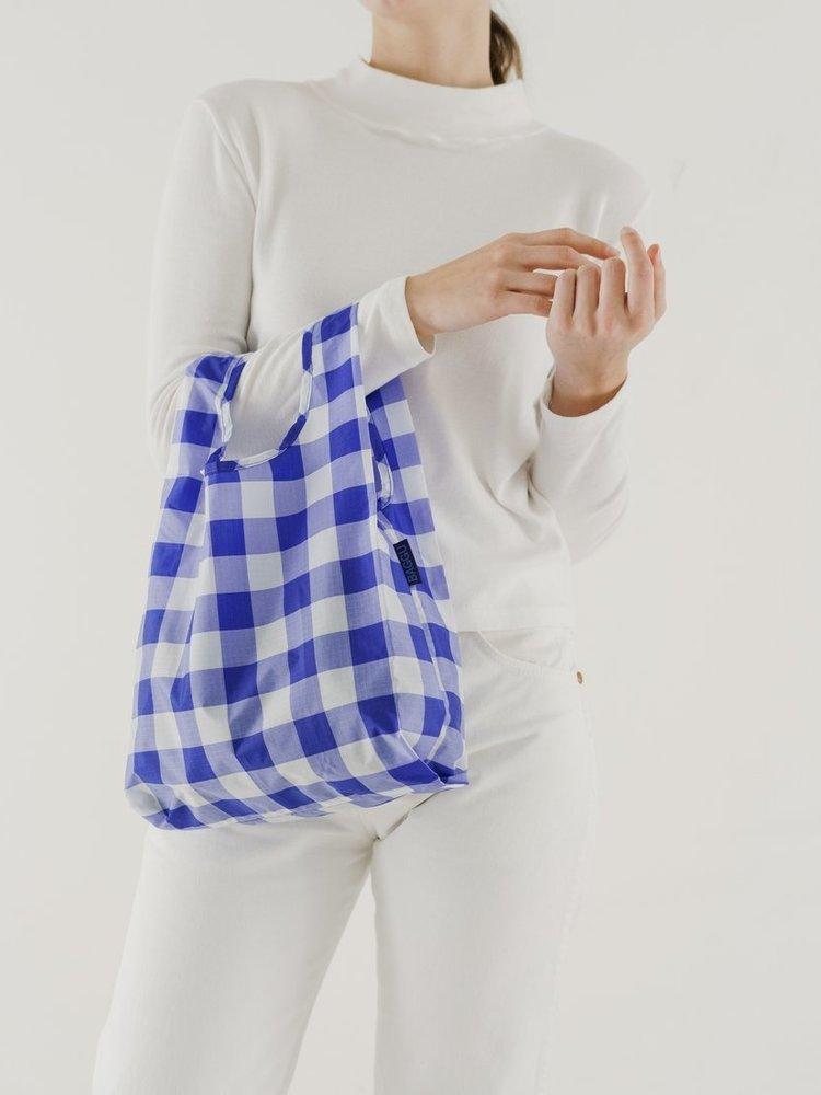 Baggu Baggu Baby Baggu Reusable Bag - Big Check Blue