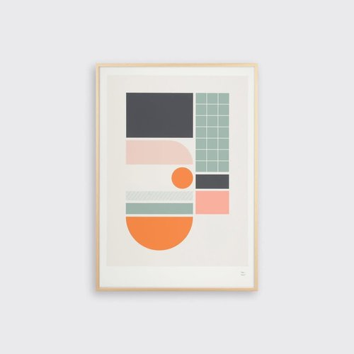 Tom Pigeon Tile 1 Print - A3