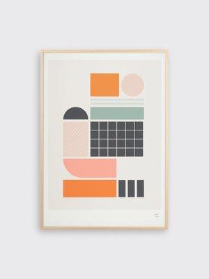 Tom Pigeon Tile 2 Print - A3