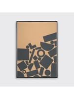 Tom Pigeon 'Stack' - Kraft Print - 500x700mm