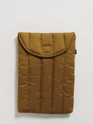 "Baggu Puffy Laptop Sleeve 13"" - Bronze"
