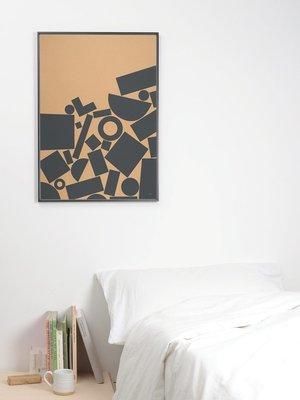 Tom Pigeon Tom Pigeon 'Stack' - Kraft Print - 500x700mm