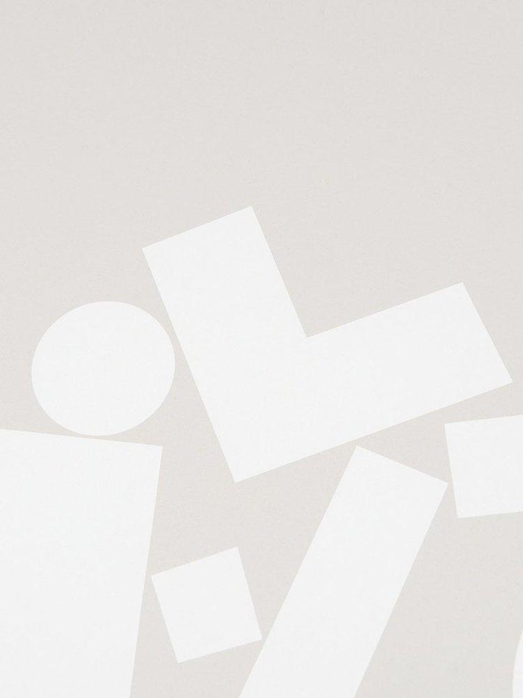 Tom Pigeon Tom Pigeon 'Stack' - Grey Print - 500x700mm