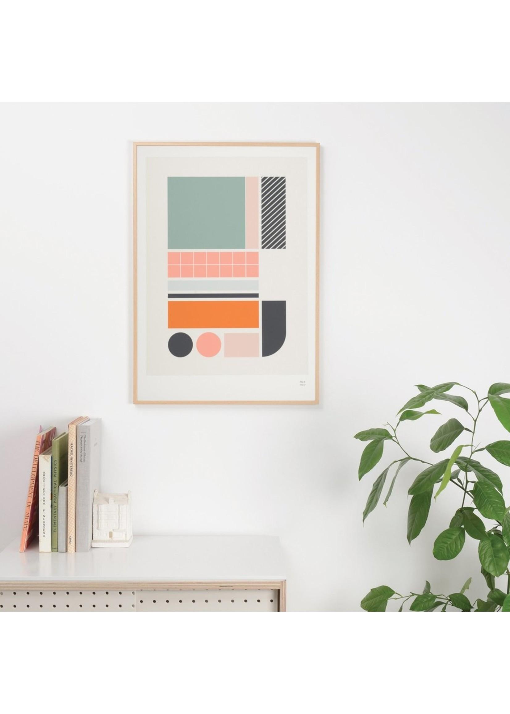 Tom Pigeon Tom Pigeon Tile 3 Print - A3