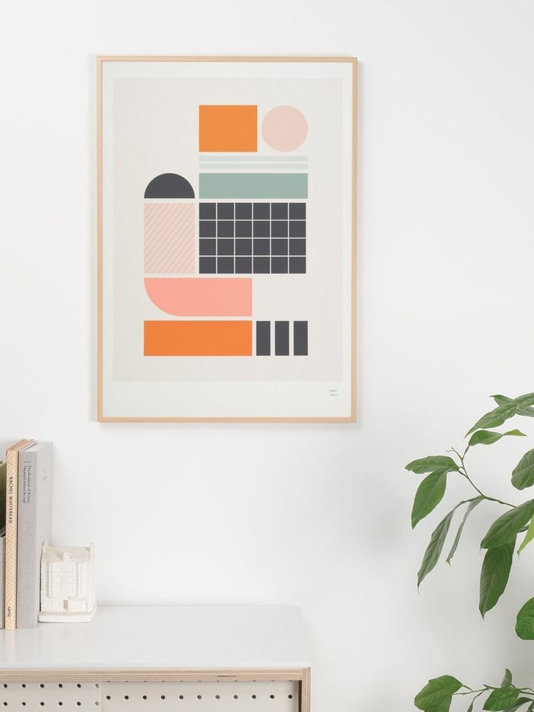 Tom Pigeon Tom Pigeon Tile 2 Print - A3