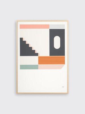 Tom Pigeon Tom Pigeon Place 2 Print - A3