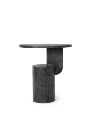 ferm LIVING Insert Side Table - Black stained