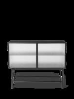 ferm LIVING Haze Sideboard - Wired Glass