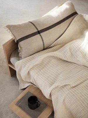 ferm LIVING ferm LIVING Daze Bedspread - Sand