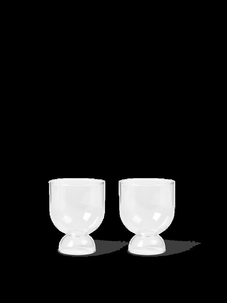 ferm LIVING Ferm Living Still Glasses - Set of 2