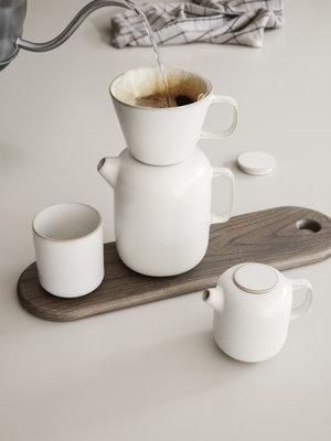 ferm LIVING Ferm Living Sekki Coffee Pot - White/Cream