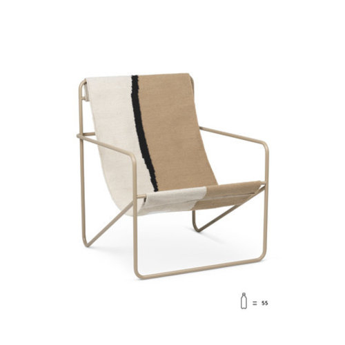 ferm LIVING Desert Chair - Soil