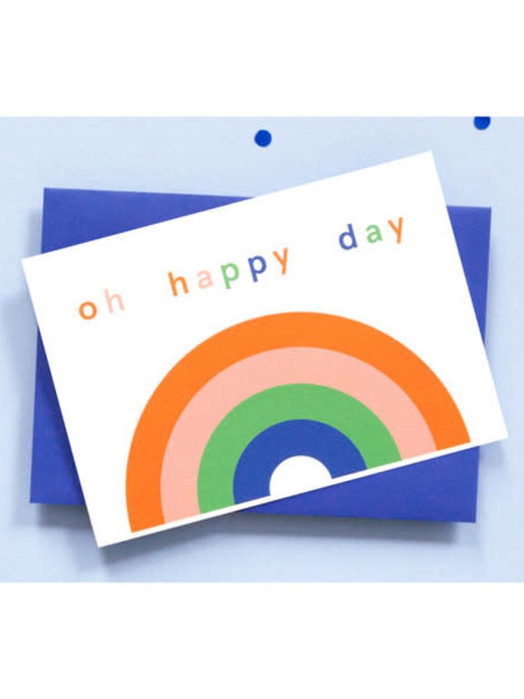 Ola OLA jr Rainbow Greeting Card
