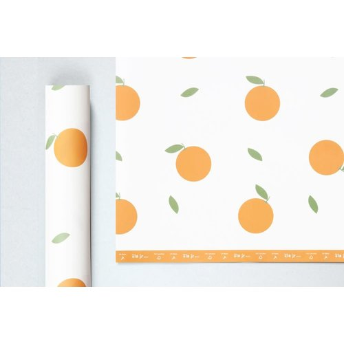 Ola ola jr mini Patterned Papers, Oranges Print