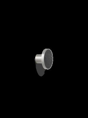 ferm LIVING Hook - Stone/Steel - Large - Marble Black