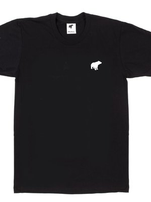 Plain Bear original black t-shirt - white logo