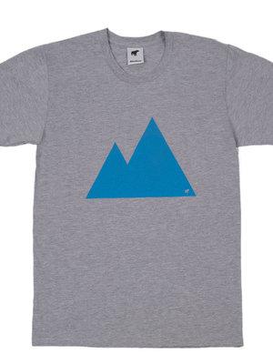 Plain Bear Mountain t-shirt in grey