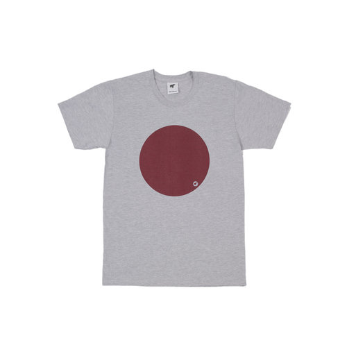 Plain Bear Circle t-shirt in grey