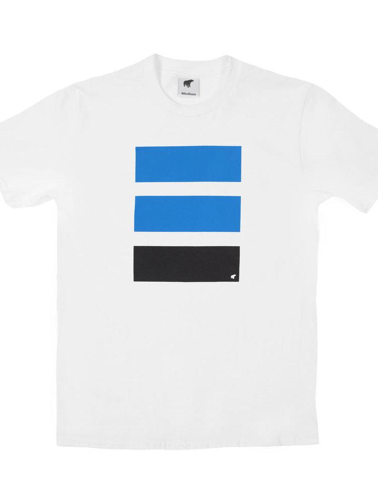 Plain Bear Plain Bear Police t-shirt in white