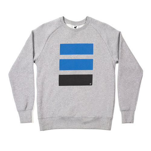Plain Bear Police sweater in grey