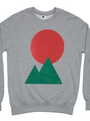 Plain Bear Plain Bear Moon sweater in grey