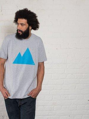 Plain Bear Plain Bear Mountain t-shirt in grey