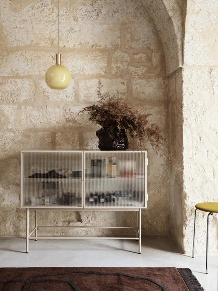 ferm LIVING ferm LIVING Haze Sideboard - Cashmere/Reeded Glass