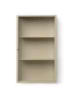 ferm LIVING Haze Wall Cabinet - Cashmere/Reeded