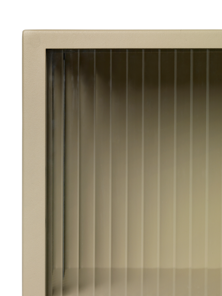 ferm LIVING Ferm Living Haze Wall Cabinet - Cashmere/Reeded