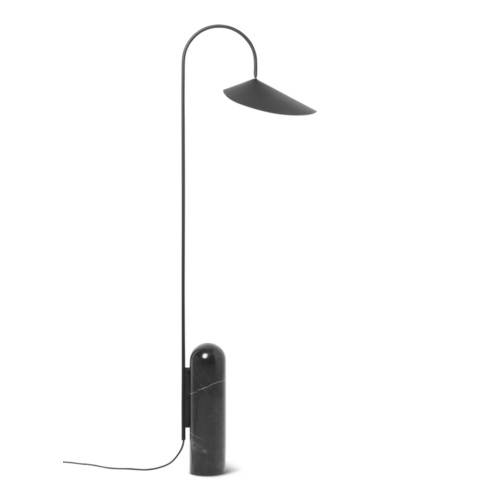ferm LIVING Arum Floor Lamp - Black