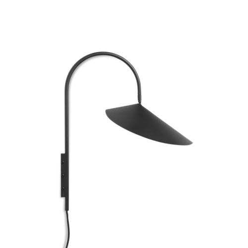 ferm LIVING Arum Wall Lamp - Black