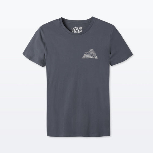 The Level Collective Peaks T-shirt India ink