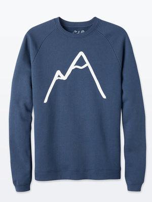 The Level Collective The Level Collective Simple Mountain Sweater Navy