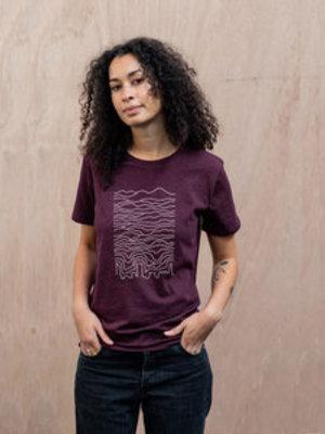 The Level Collective The Level Collective Known Pleasures T-shirt Grape