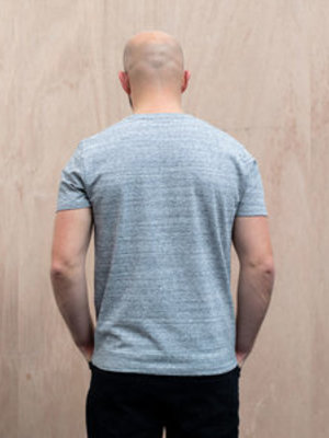 The Level Collective The Level Collective Bamford T-shirt Grey marl