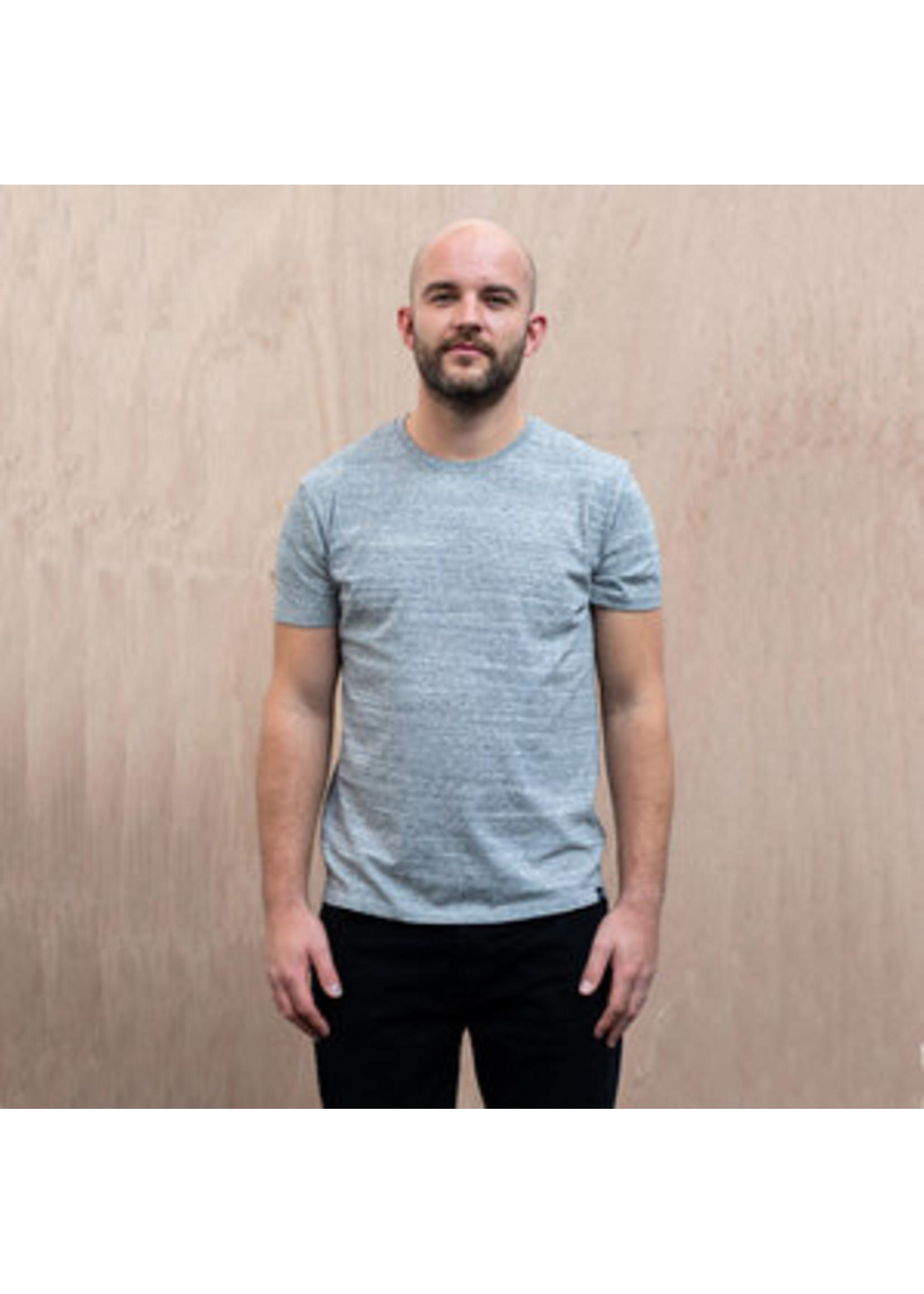 The Level Collective The Level Collective Bamford T-shirt Grey marl