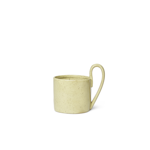 ferm LIVING Flow Mug - Yellow Speckle